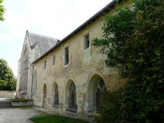 Couvent des Carmes - Français:   Attenant au chevet de l\'église Saint-Hilaire-du-Martray, le couvent des Carmes, Loudun, Vienne, France