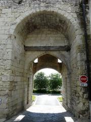 Porte du Martray - Français:   La porte du Martray, Loudun, Vienne, France