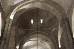 Eglise Notre-Dame-et-Saint-Junien - Deutsch: Kirche Notre-Dame-et-Saint-Junien in Lusignan im Département Vienne (Nouvelle-Aquitaine/Frankreich), Gewölbe