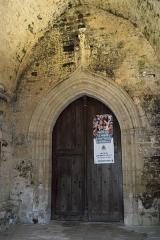 Eglise Notre-Dame-et-Saint-Junien - Deutsch: Kirche Notre-Dame-et-Saint-Junien in Lusignan im Département Vienne (Nouvelle-Aquitaine/Frankreich), Portal