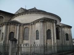 Eglise Saint-Hilaire - Vue de l'église saint- hilaire à Poitiers