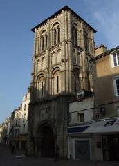 Eglise Saint-Porchaire - Français:   Église Saint-Porchaire, Poitiers, Poitou-Charentes, FRANCE