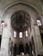 Eglise Sainte-Radegonde - Choeur de l'église Sainte-Radegonde à Poitiers.