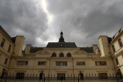 Hôtel de ville - Français:   Façade arrière de l\'hôtel de ville de Poitiers.