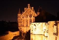 Ancien Palais des Comtes de Poitiers -  Description =Palais de justice de Poitiers  Source =Photo taken by Remi Jouan Date =Mars 2007 Author =Remi Jouan
