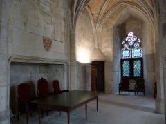 Ancien Palais des Comtes de Poitiers - Palais des Comtes de Poitiers (Palais de Justice) Intérieur de la Tour Maubergeon