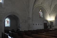 Eglise - Deutsch: Katholische Pfarrkirche Notre-Dame in La Roche-Posay im Département Vienne (Nouvelle-Aquitaine/Frankreich), Innenraum
