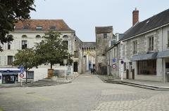 Porte de ville - Deutsch: La Roche-Posay im Département Vienne (Nouvelle-Aquitaine/Frankreich), Stadttor