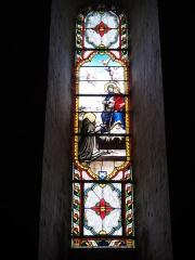 Eglise Saint-Sylvain - English: Église Saint-Romain de Saint-Sauvant, vitrail 3