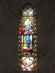 Eglise Saint-Sylvain - English: Église Saint-Romain de Saint-Sauvant, vitrail 4