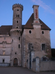 Ancienne abbaye -  détail de l'abbaye de Saint-Savin-sur-Gartempe.