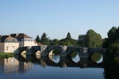 Pont -  Pont sur la Gartempe entre Saint-Germain et  Saint-Savin