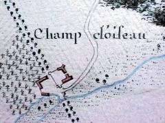 Manoir de Champdoiseau - Français:   Chandoiseau - Atlas de Trudaine