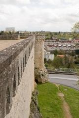 Enceinte -  Les remparts du parc de Blossac de Poitiers, coté sud-ouest