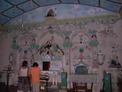 Eglise Sainte-Anne - English:   The chapel devoted to Saint Thérèse de Lisieux in the church of Sainte-Anne (Saint-Benoît, Réunion Island).