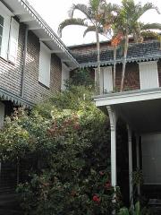 Villa Deramond -  Photo de la façade arrière de la villa Déramond-Barre, à Saint-Denis de la Réunion.