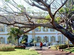 Hôtel de ville -  Mairie de saint Pierre:: The town hall (La Réunion)