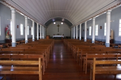 Eglise Saint-Martin - English: Inside of the church of Grand Ilet (Salazie, Réunion.