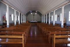 Eglise Saint-Martin - English:   Inside of the church of Grand Ilet (Salazie, Réunion.