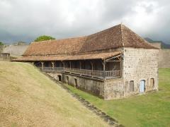 Fort Saint-Charles, Fort Richepance ou Fort Delgrès, puis laboratoire de vulcanologie - Fort Delgrès