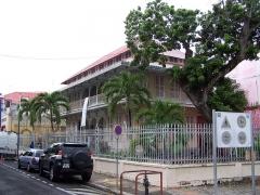 Maison dite Maison Pagès, actuellement musée Saint-John Perse - English: Le musée Saint-John Perse de Pointe-à-Pitre