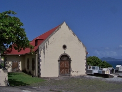 Eglise - English: Église Saint-Albert de Vieux-Fort