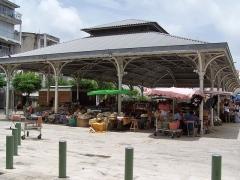 Marché central couvert - English: Marché aux épices de Pointe-à-Pitre, Guadeloupe