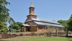 Chapelle de l'île Royale - English: Chapel of the convict prison of Île Royale, French Guiana.