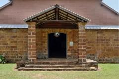 Chapelle de l'île Royale - English: Ile Royale, French Guiana: chapel entrance.