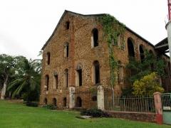 Ancien Hôpital de l'île Royale -  bagne des Iles du Salut en Guyane (France)