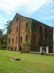 Ancien Hôpital de l'île Royale -  Ruines