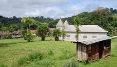 Eglise Saint-Antoine de Padoue - English: Central place at Saül, French Guiana.