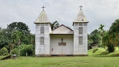 Eglise Saint-Antoine de Padoue - English: Église Saint-Antoine-de-Padoue in Saül, French Guiana.