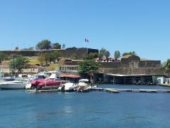 Fort Saint-Louis - Français:   Le bastion sud-est du Fort Saint-Louis vu du bassin du Carénage à Fort-de-France