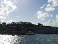 Fort Saint-Louis - Français:   Le Fort Saint-Louis vu du bassin du Carénage à Fort-de-France