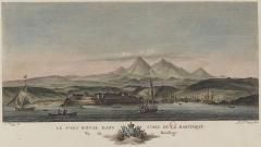 Fort Saint-Louis - Français:   Estampe tirée des Nouvelles vues perspectives des ports de France dessinées pour le Roi par M. Ozanne. Gravées par Y. Le Gouaz en 1776.