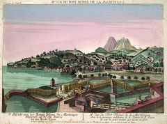Fort Saint-Louis - English: View of Fort Royal in Martinique.