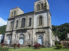 Ancienne cathédrale Notre-Dame-de-l'Assomption, actuellement église du Mouillage - Suomi: Saint-Pierren katedraali Notre-Dame-de-l'Assomption Martiniquella