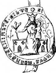 Abbaye de Haute-Veille (restes) -  Abbaye Haute-Seille sceau Martimprey