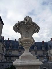 Château de Fléville - English: Château de Fléville (Meurthe-et-Moselle), sculpture