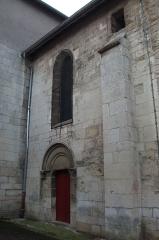 Eglise - Français:   portail nord de l\'Église st-Pierre (Liverdun).