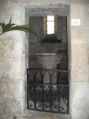 Eglise - Français:   en l\'Église st-Pierre (Liverdun).