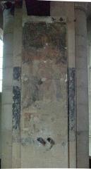 Eglise - Français:   peinture murale.