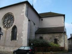 Eglise - Français:   partie orientale de l\'église.