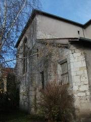 Eglise - Français:   extérieurs de l\'église.