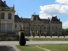 Domaine du château - Arrière du château de Lunéville (Meurthe-et-Moselle, France).