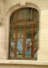 Immeuble de la Chambre de Commerce et d'Industrie de Meurthe-et-Moselle -  Un vitrail de la chambre de commerce et d'industrie de Meurthe-et-Moselle
