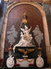 Eglise Notre-Dame-de-Bonsecours - English:   Queen Katarzyna Opalińska\'s tomb is in the church of Notre-Dame-de-Bonsecours in Nancy.