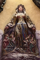 Eglise Notre-Dame-de-Bonsecours - Français:   France, Lorraine, Meurthe-et-Moselle, Nancy: église baroque de Bonsecours par Emmanuel Héré, statue de Notre Dame de Bonsecours sculptée en 1505 par Mansuy Gauvin