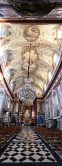 Eglise Notre-Dame-de-Bonsecours - Français:   France, Lorraine, Meurthe-et-Moselle, Nancy: vue panoramiques de l\'église baroque de Bonsecours construite par Emmanuel Héré.
